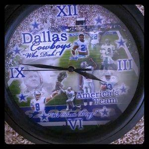 All pro Dallas cowboy americas team clock